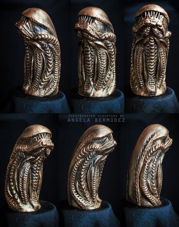 Chestburster Sculpture
