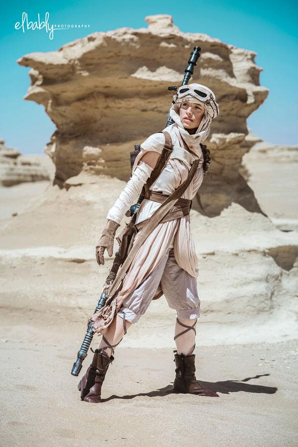 Rey: Star Wars the Force Awakens