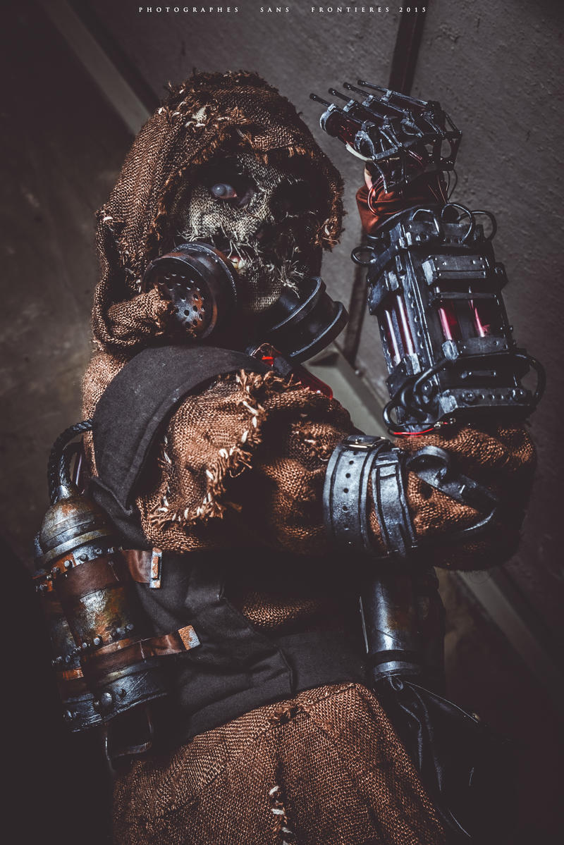 Batman Scarecrow Costume Arkham Knight