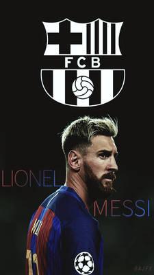 Messi Mobile LockScreen Wallpaper