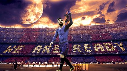 Messi 1080p Desktop Wallpaper