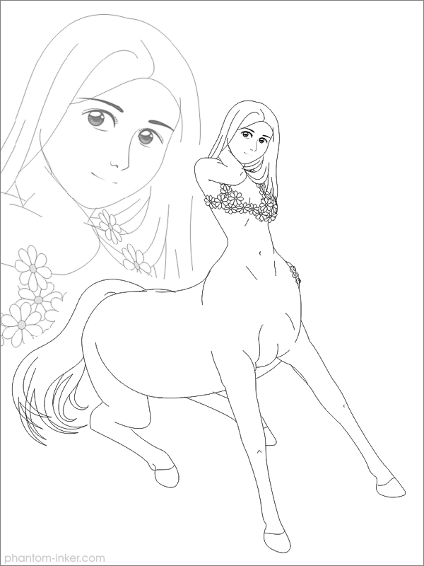 Pretty Girl - WIP by phantom-inker