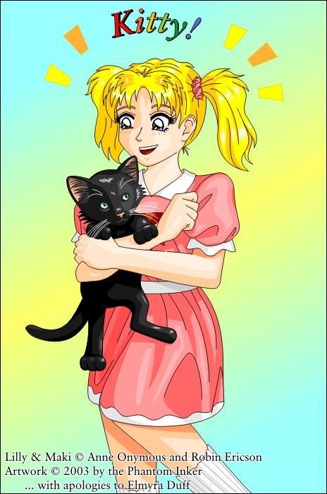 Kitty by phantom-inker