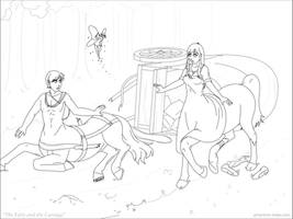 The Fairy and the Carriage by phantom-inker