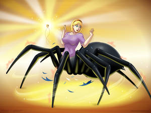 Giant --- spider!?