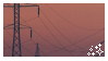sunset stamp by siIverware