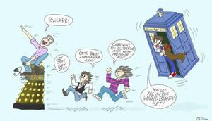 Top Gear meets the 10th Doctor