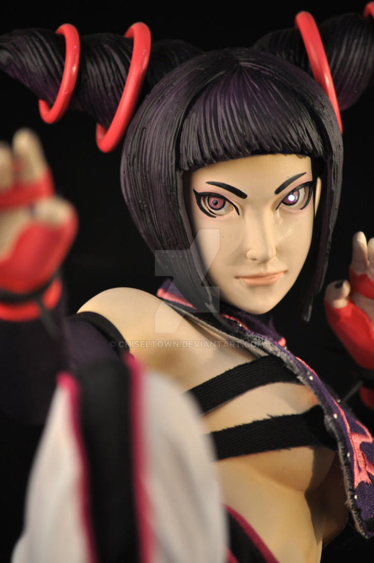 Limited Ed Juri 1:4 scale mixed media 4 by chiseltown