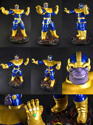 Thanos (Ron Lim ver.) 1/4 scale by chiseltown