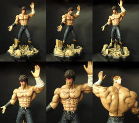 Kenshiro 1/4 scale statue by chiseltown