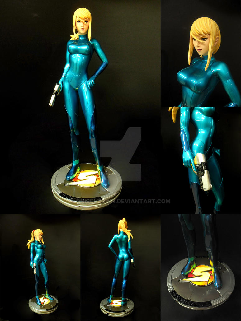 Samus Aran Zero Suit 1/4 scale by chiseltown