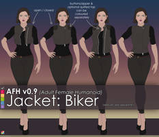 AFH: Jacket - Biker by EMCCV