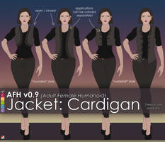AFH: Jacket - Rounded and Waterfall