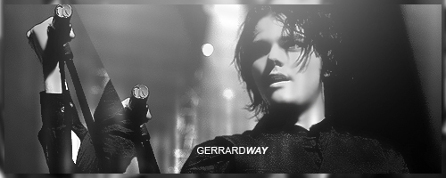 Gerard Way by A7mdo92