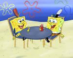 SpongeBob with SpongeBoy