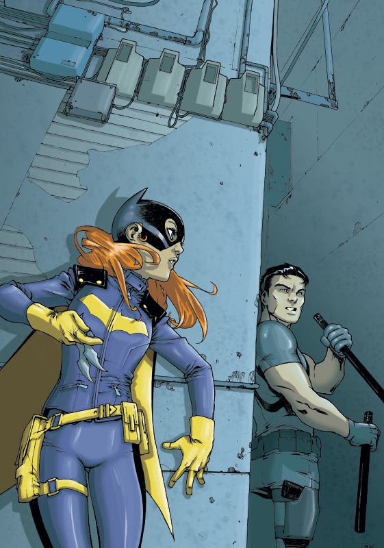 Batgirl - Grayson Colours by giantboydetective
