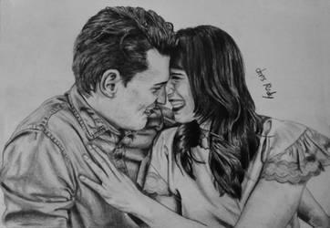 Bryan and Amelia by chriscastielredy