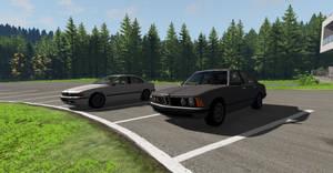 BeamNG.drive - BMW E39 and E23