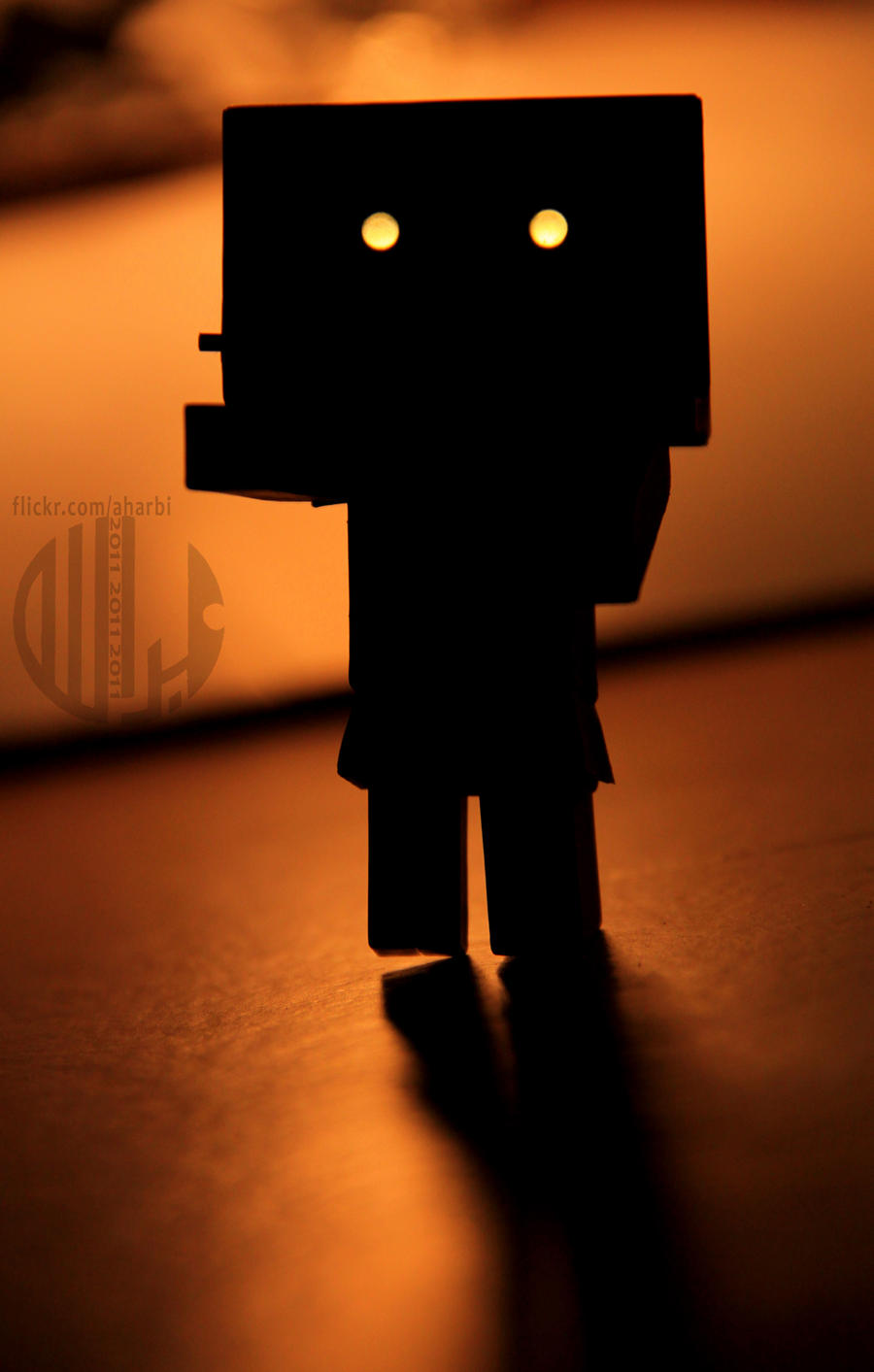 Danbo Horror by Aharbi