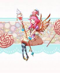 Candy Girl by CrackedFishtank