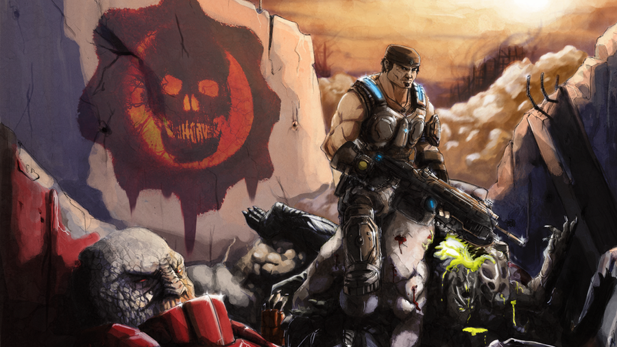 GoW: King of the Hill by CrackedFishtank