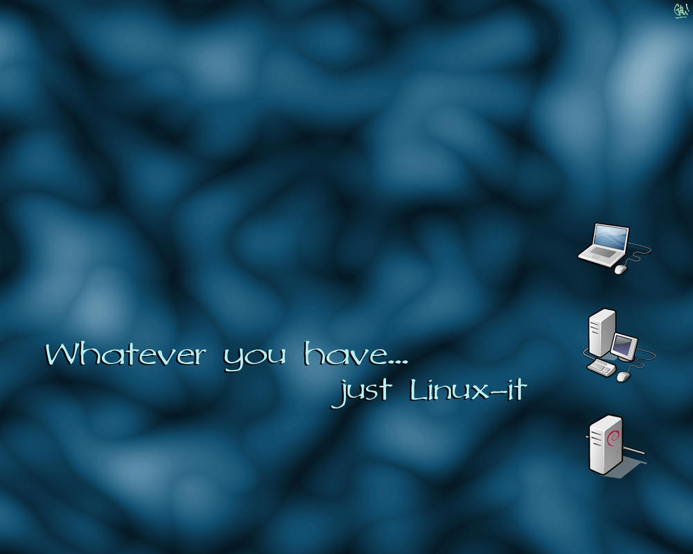 Just Linux-it by gothian