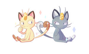 Meowth by BaekSkyward