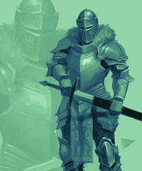 Sea Green Knight