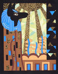 Klimt's Paper Anubis