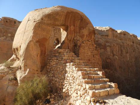Crusaders in Petra