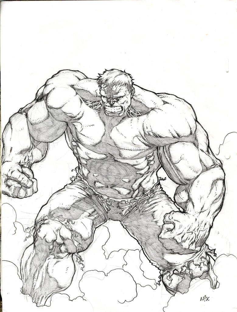 Hulk Face Line Drawing : The hulk by mannixfrancisco on deviantart