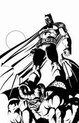 Batman: Miller Time by MannixFrancisco