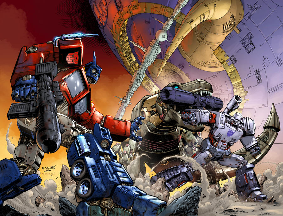 Transformers Colored Version