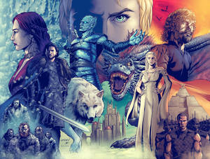 Game of Thrones DPS Colored