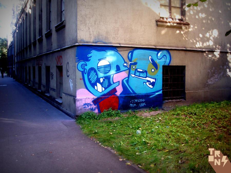 bomb valdemara-iela by tronzero