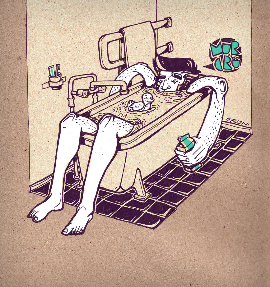 hangover bath by tronzero
