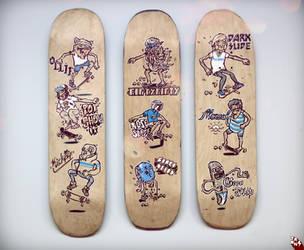 proper skating manual by tronzero