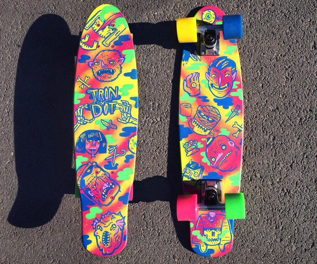 acid horror deck by tronzero