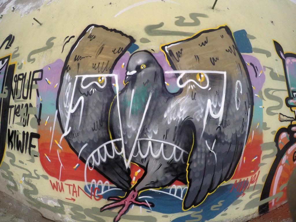 Wu pigeon by tronzero