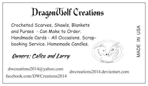 DragonWolf Creations by DWCreations2014