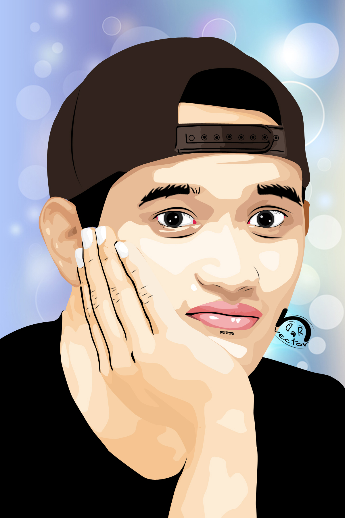 ... Rezky Aditya in Vector Art by ndravector - vector_14_by_ndravector-d5tcfgd