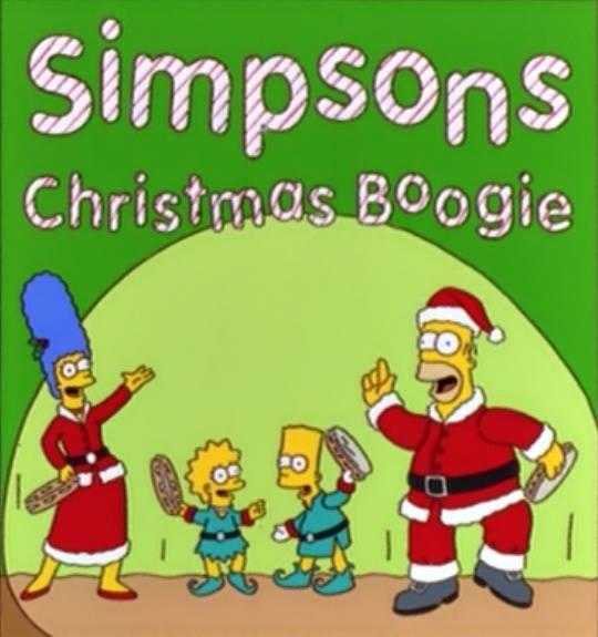the simpson christmas boogie!!! by ignaciopaz on DeviantArt