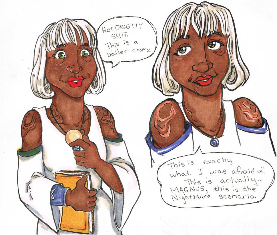 Lucretia Quotes, Crystal Kingdom by EverymanGirl