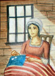 Betsy Ross ACEO