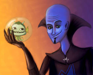 MEGAMIND by meowsap