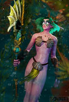 C: Druid of the Fin by Belvane