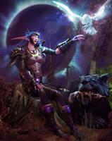 C: Shandlyre In Darkshore by Belvane