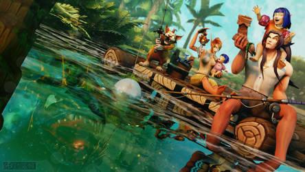 C: Axalon's Family's Fishing Adventure