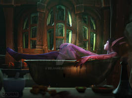 Patreon reward: Seranel's Bath