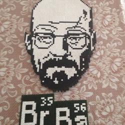 Heisenberg/Breaking Bad/ Hama Beads by xShikirayx